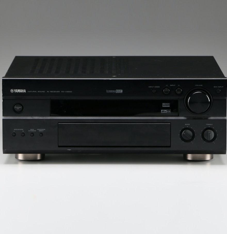Yamaha rx v2200 stereo receiver ebth for Yamaha receiver accessories