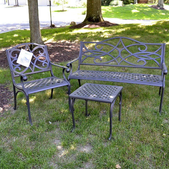 Complete Garden Treasures Patio Furniture Set ...