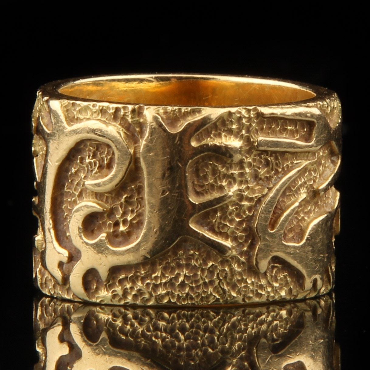 18K Yellow Gold Ring from Cheyenne Ben Nighthorse Campbell