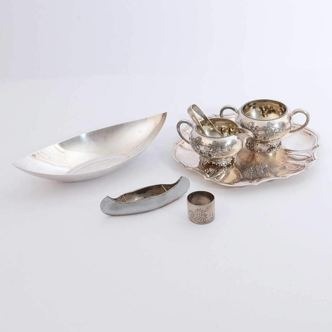 Vintage Silver Plated Serving Pieces