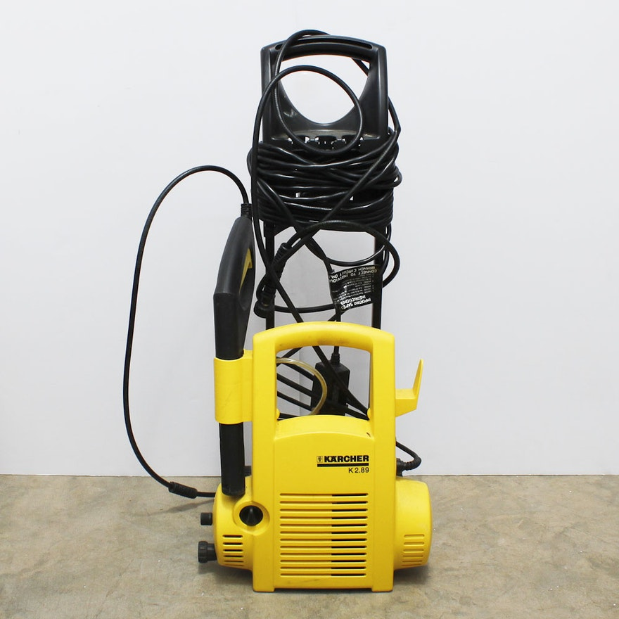 karcher pressure washer k2 serial number