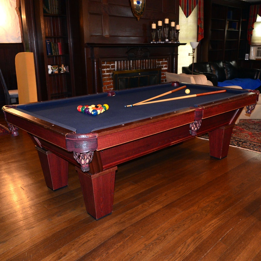 Stunning canada billard bowling images for Oak beauty pool table