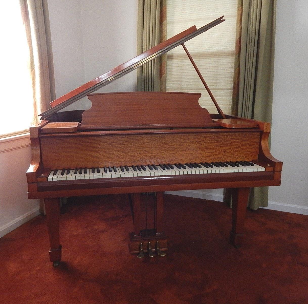 C. Kurtzmann Baby Grand Piano