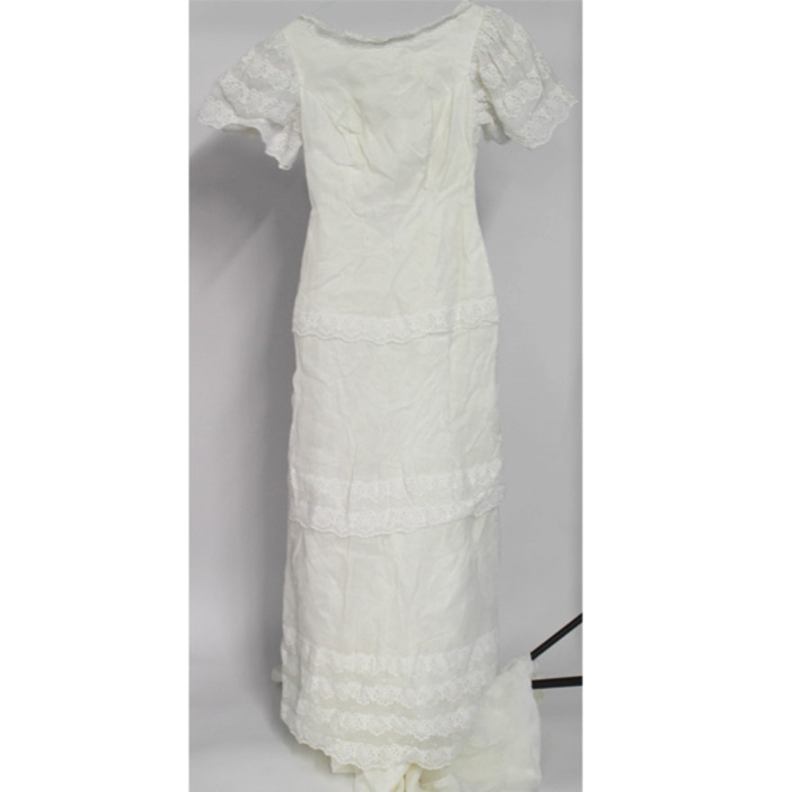 Vintage Cahill Of Beverly Hills Wedding Dress Ebth