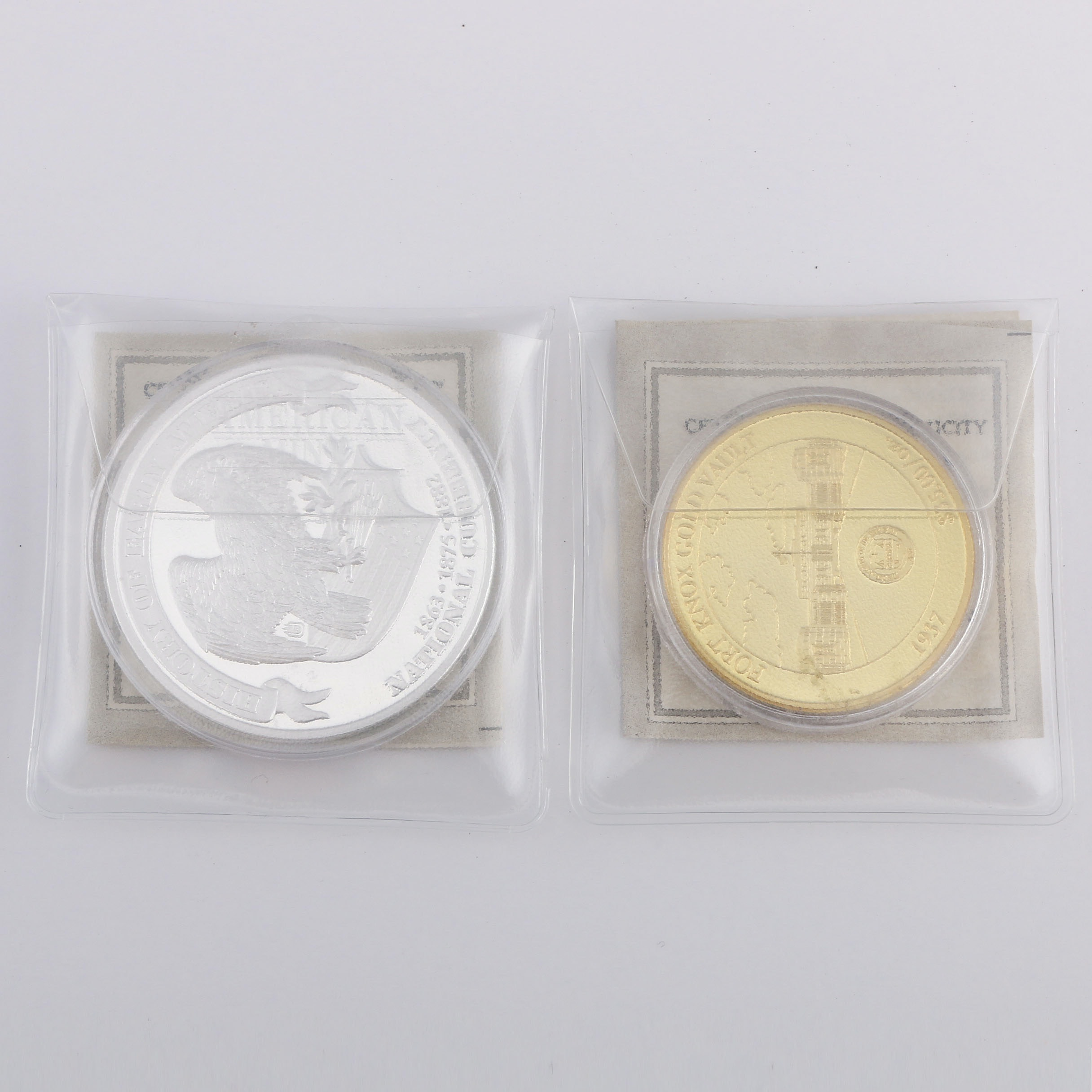 Uncirculated Commemorative Tokens