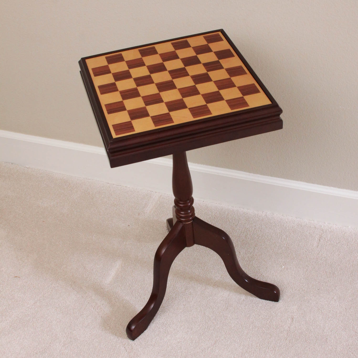 Wooden Chess Table By The Bombay Company ...