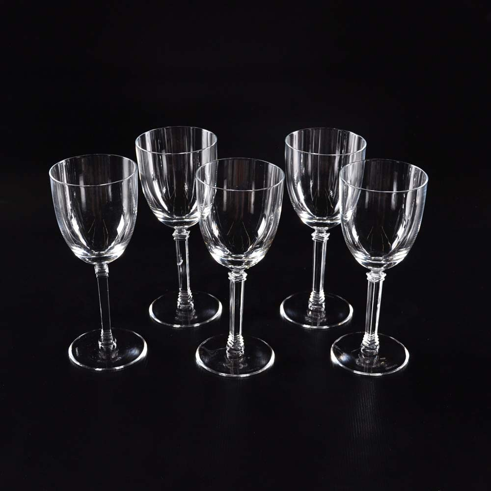 Set of Tiffany & Co Water Goblets