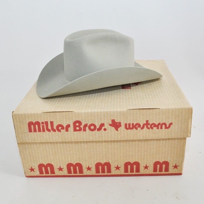 Miller Bros. Westerns Custom Cowboy Hat