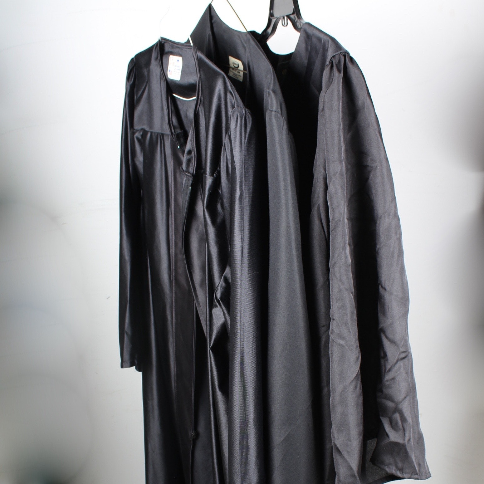 Trio of Commencement Gowns