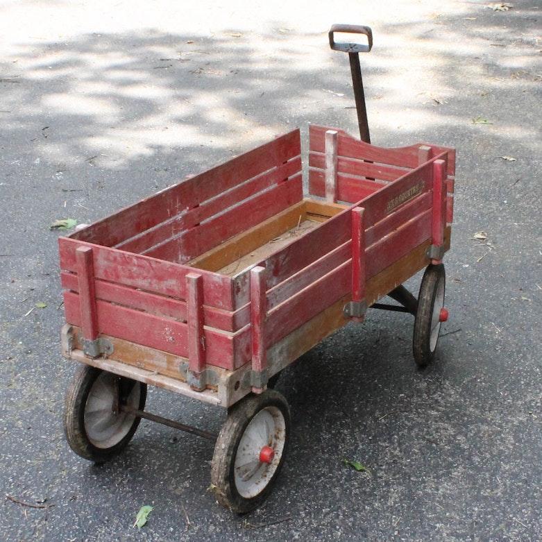 Vintage Aero Flyer Wooden Wagon Ebth