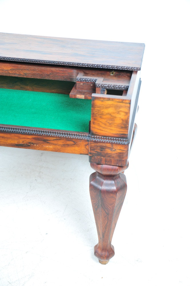 Antique Rosewood Spinet Parlor Piano Desk Conversion Ebth