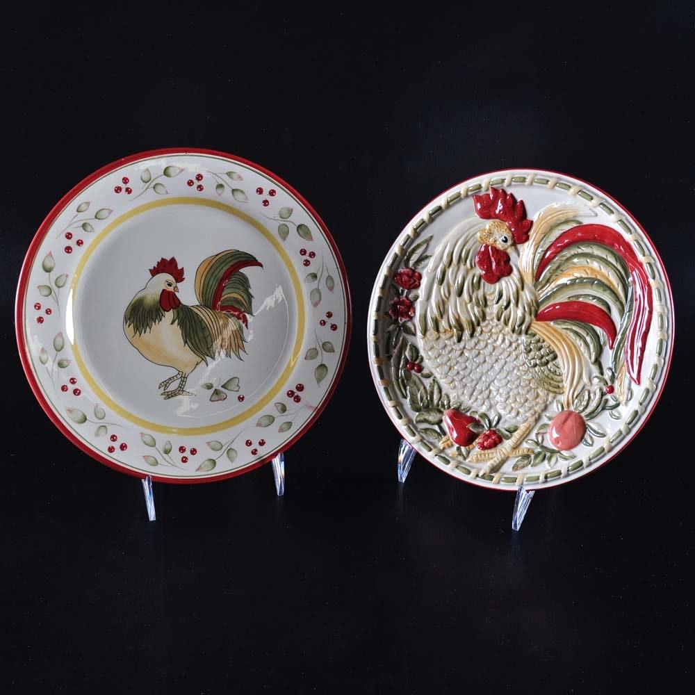 Royal Doulton Decorative Rooster Plates ... & Royal Doulton Decorative Rooster Plates : EBTH