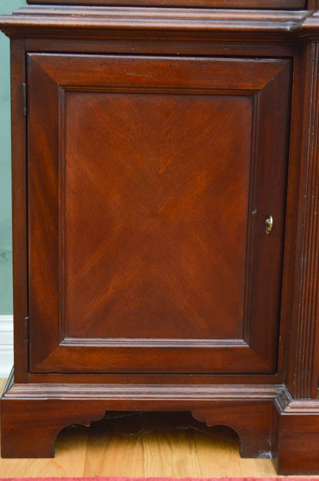 Palmer Home Collection Breakfront China Cabinet Ebth
