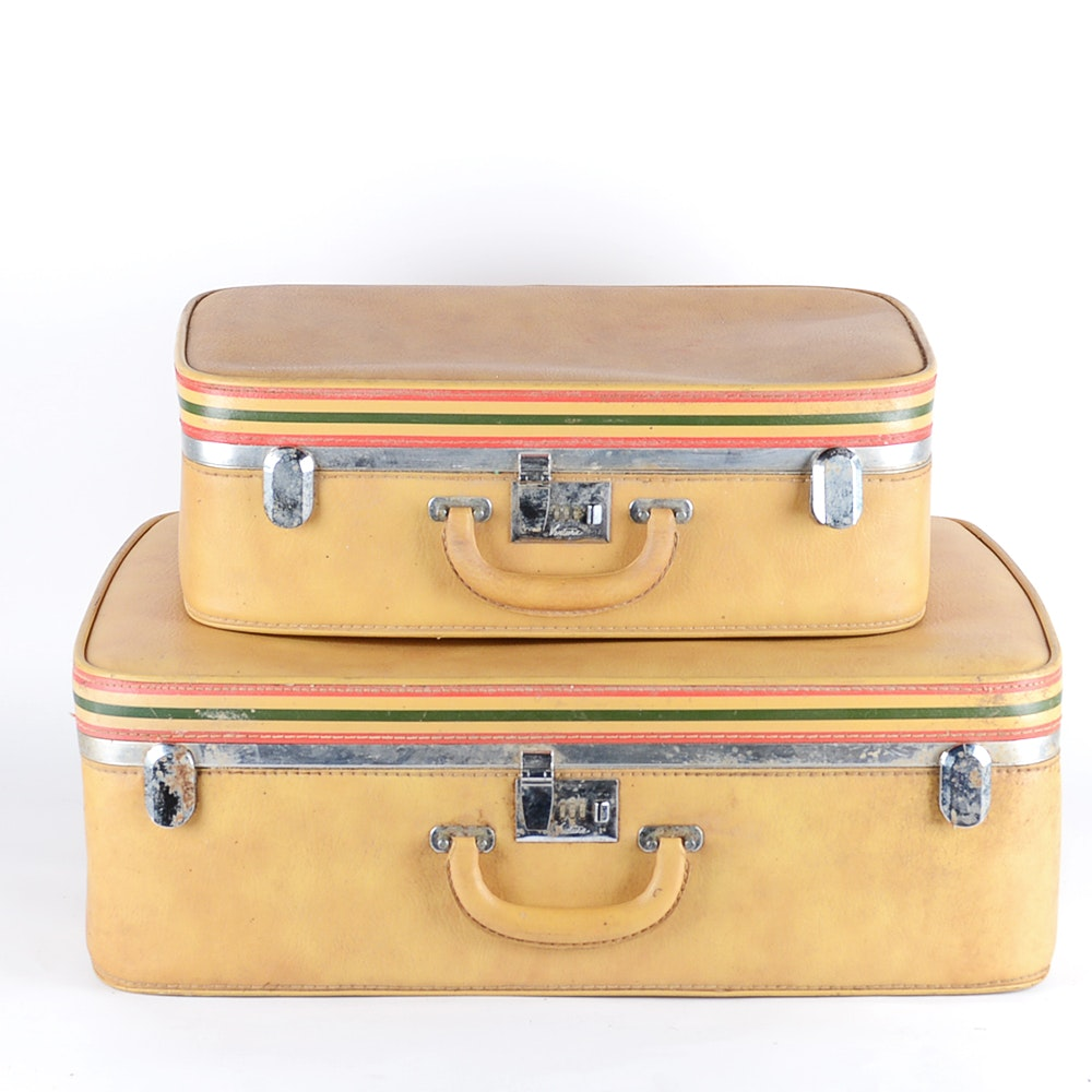 Vintage Ventura Suitcase Set : EBTH