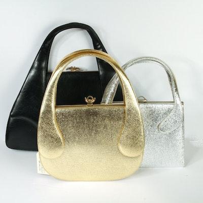 Three Vintage Francois of California Handbags