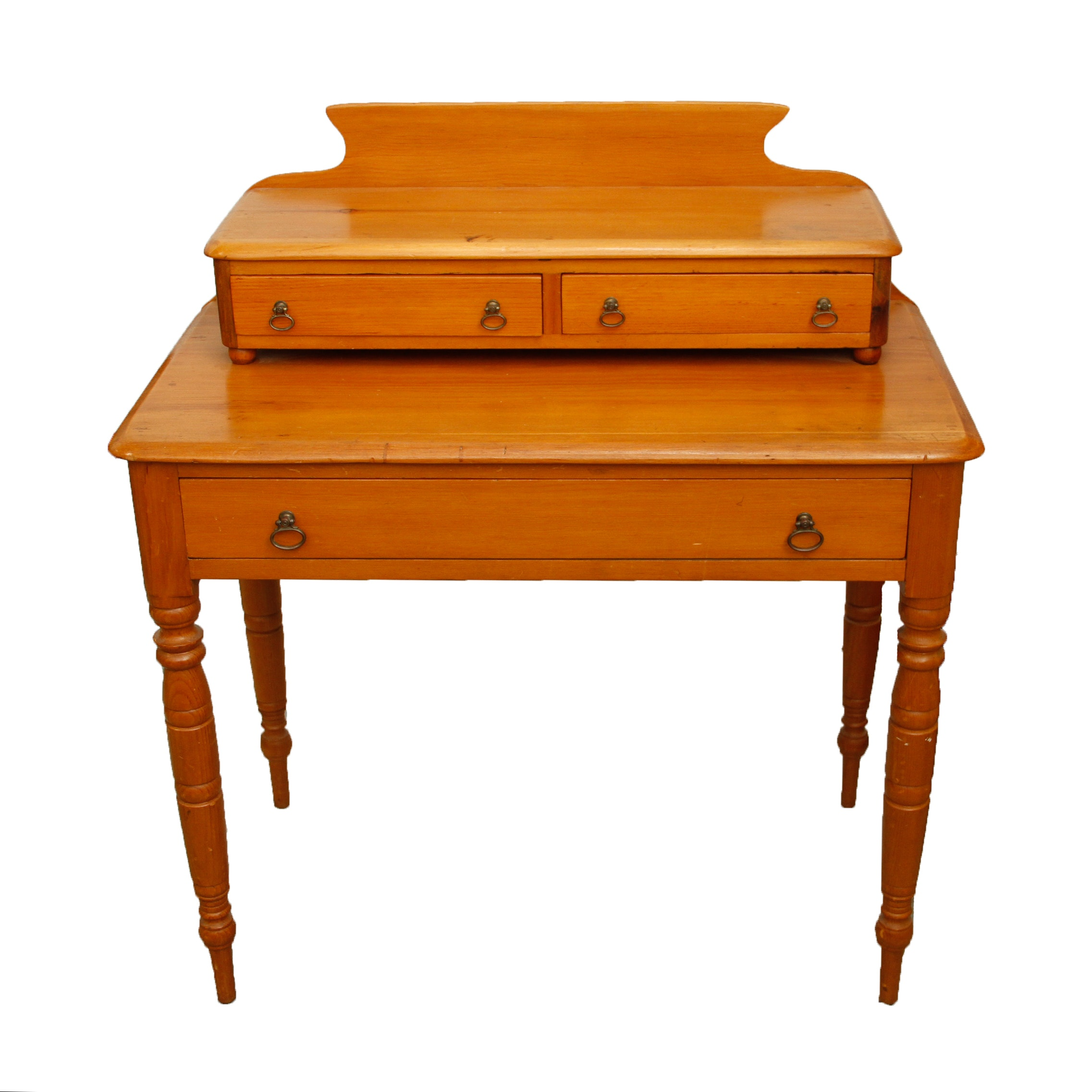 Small Wooden Secretary Desk