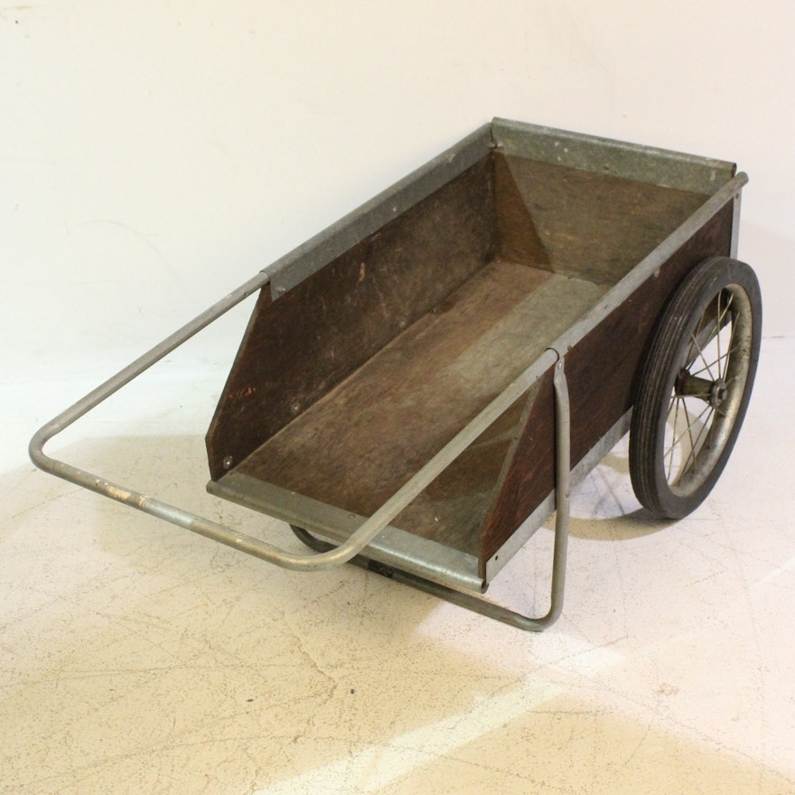 Original Garden Way Vintage Two Wheel Cart