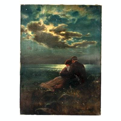 Robert Atkinson Fox Original Oil Painting