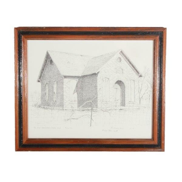 Steve Hull Signed Limited Edition Lithograph