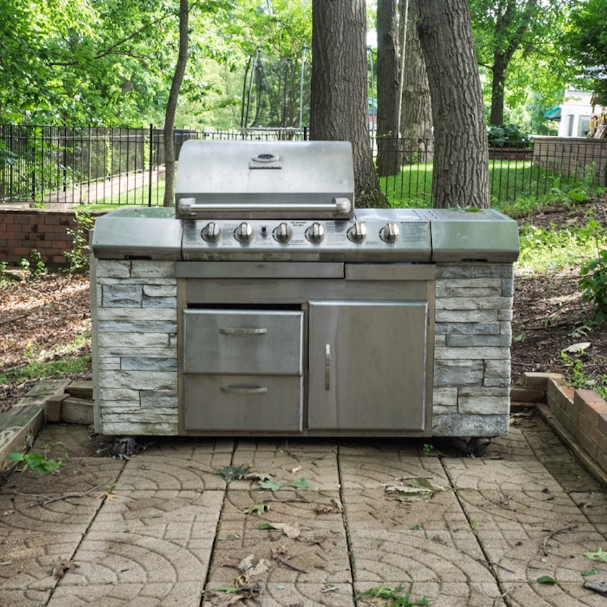 Beyond The Barbecue 15 Streamlined Kitchens For Outdoor: Charmglow Outdoor Kitchen