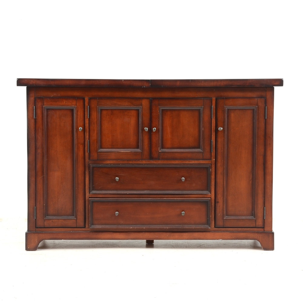 "Pottery Barn ""Torrens"" Bar Cabinet"