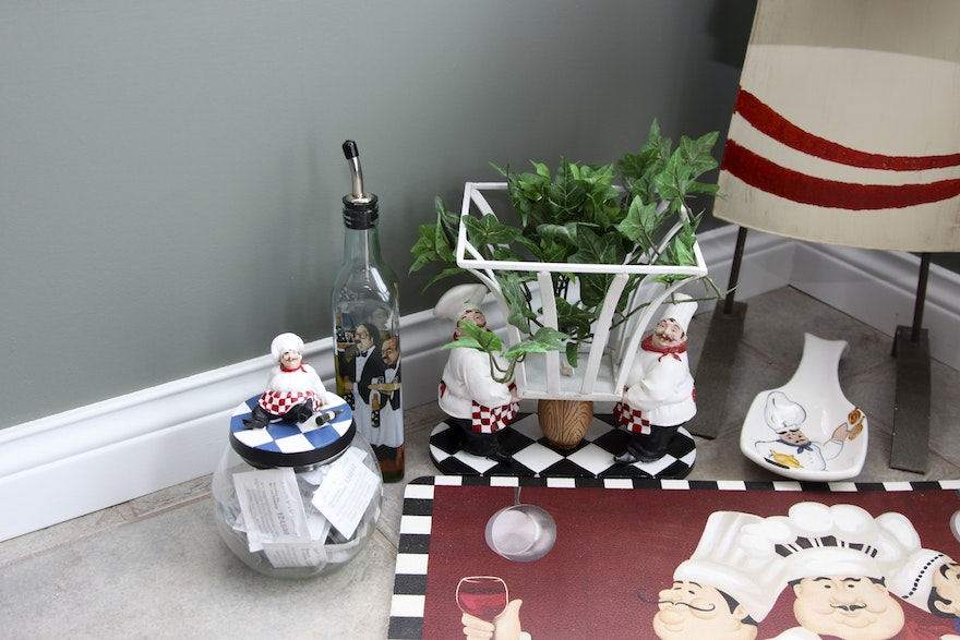 whimsical chef themed kitchen decor | ebth