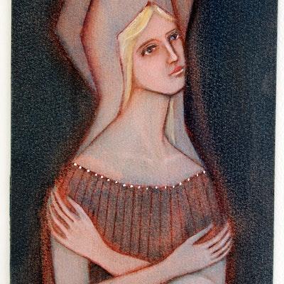 June Ruff Original Pastel Painting