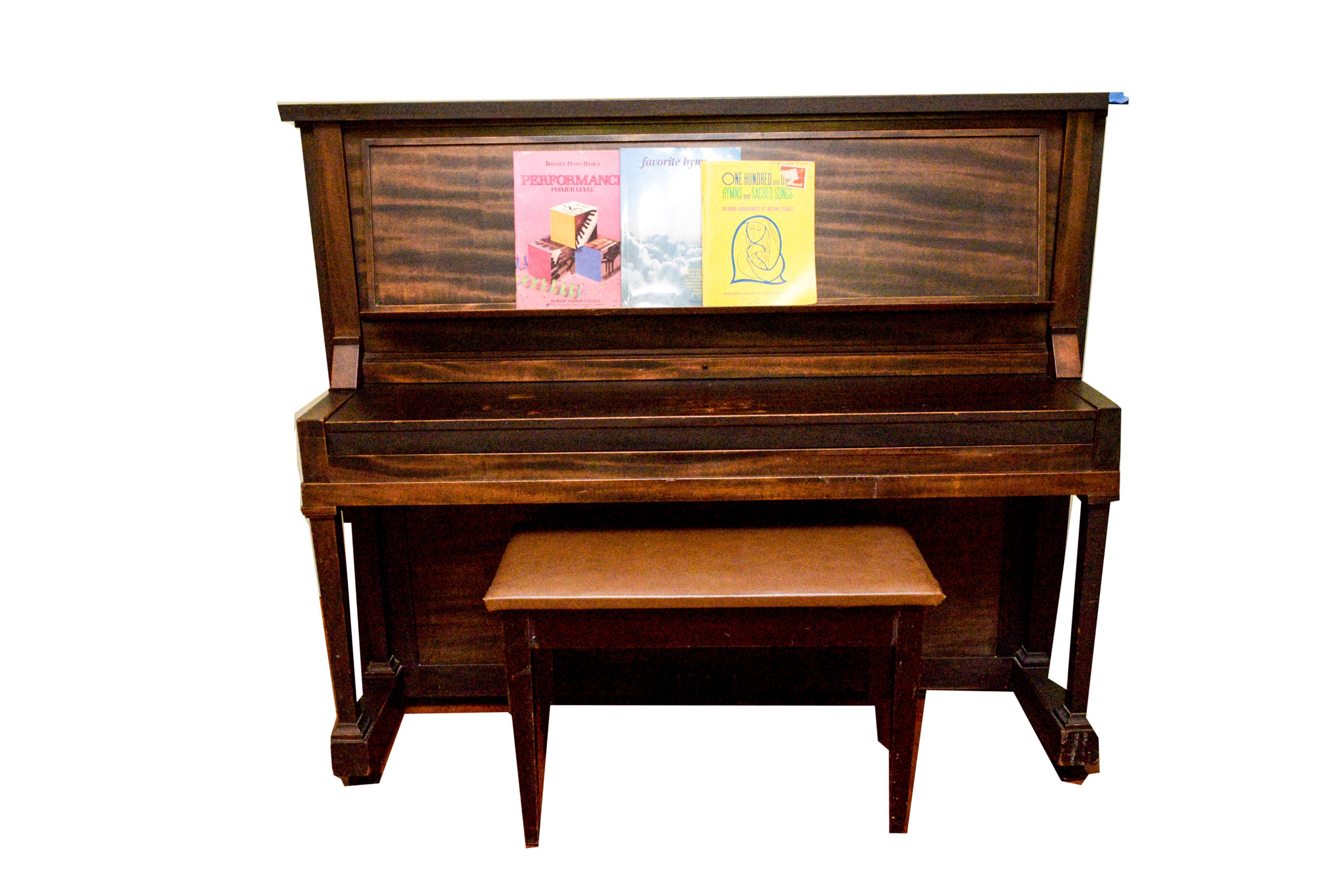 """Vintage Inverted Grand Piano by """"Paul G. Mehlin & Sons"""""""