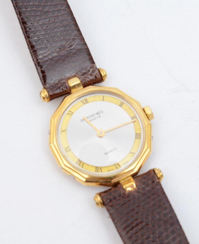 Raymond Weil 18K Electroplated Quartz Watch