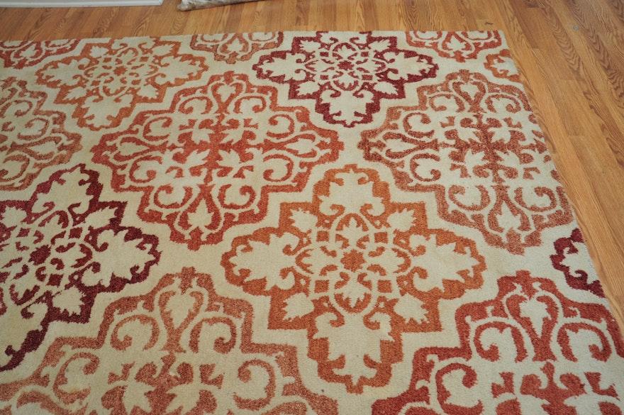 Hand Tufted Wool Area Rug By Castile Ebth