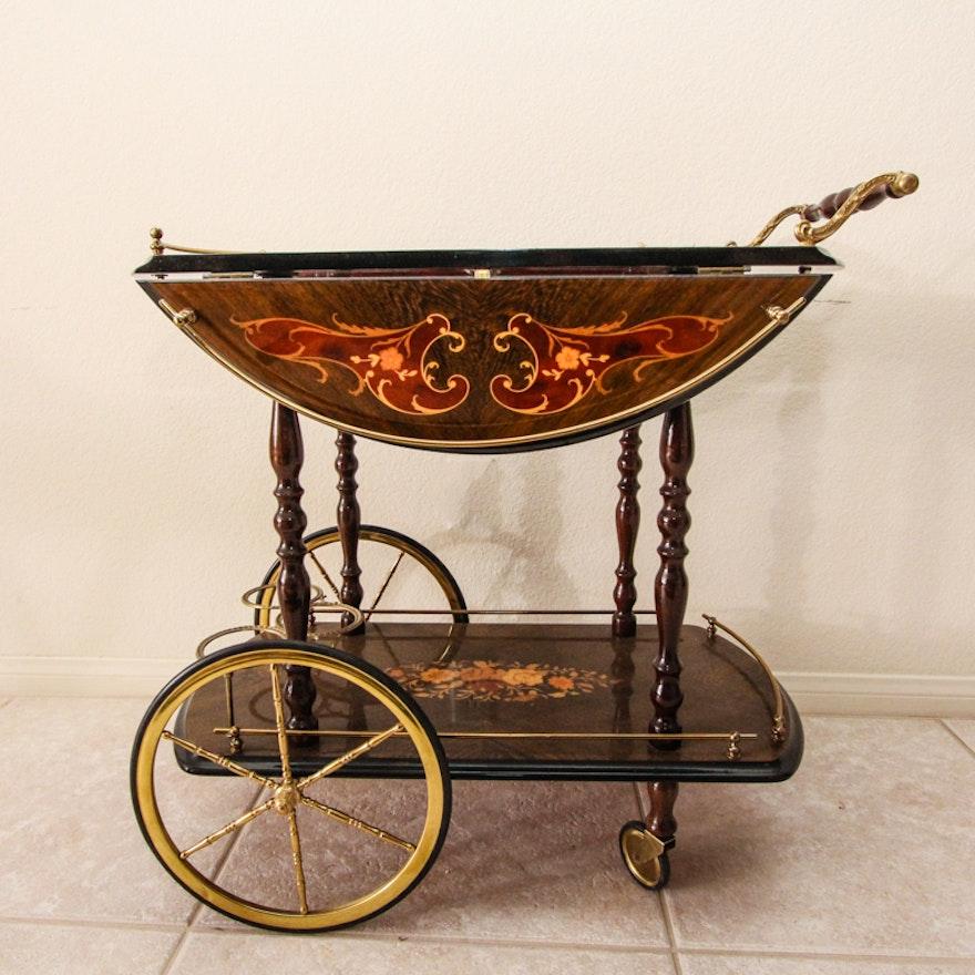 Vintage Italian Tea Cart Ebth