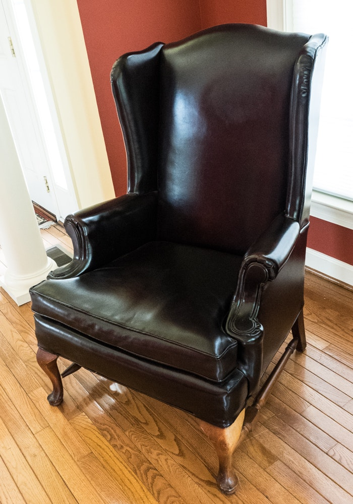 Southern Furniture Company Wingback Chair Ebth