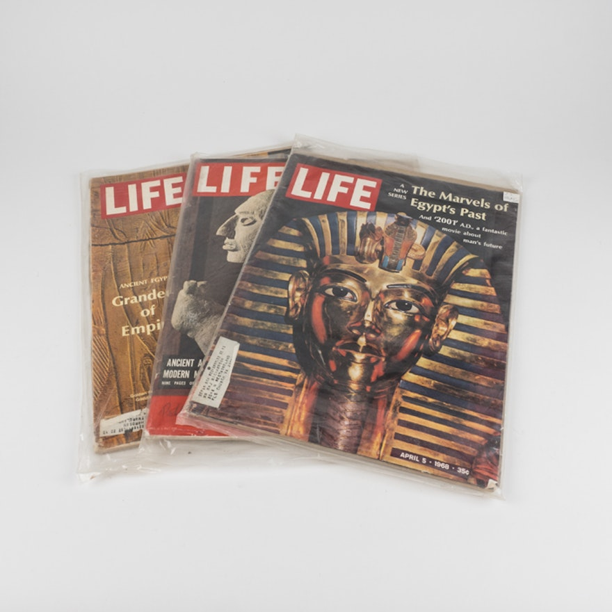 LIFE Magazines about Ancient Egypt and Maya