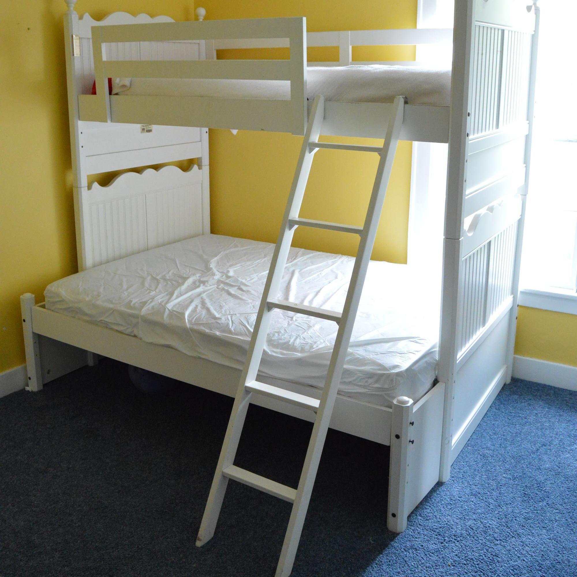 Stanley Furniture White Bunk Bed Ebth