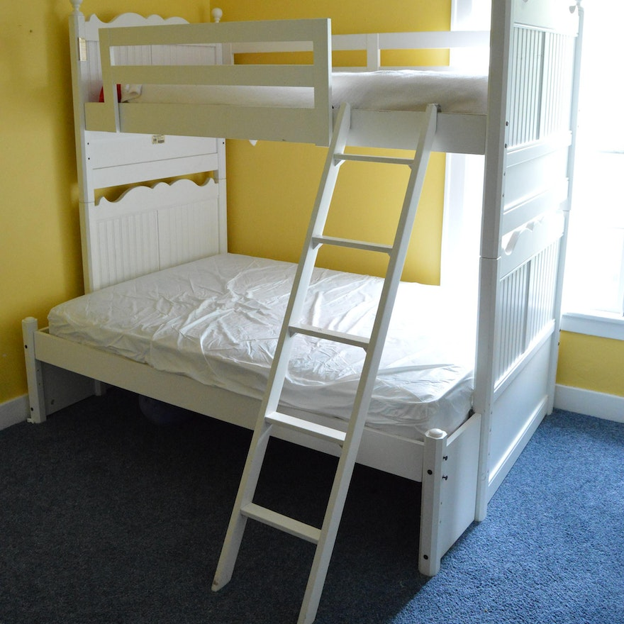 Stanley Furniture White Bunk Bed Ebth