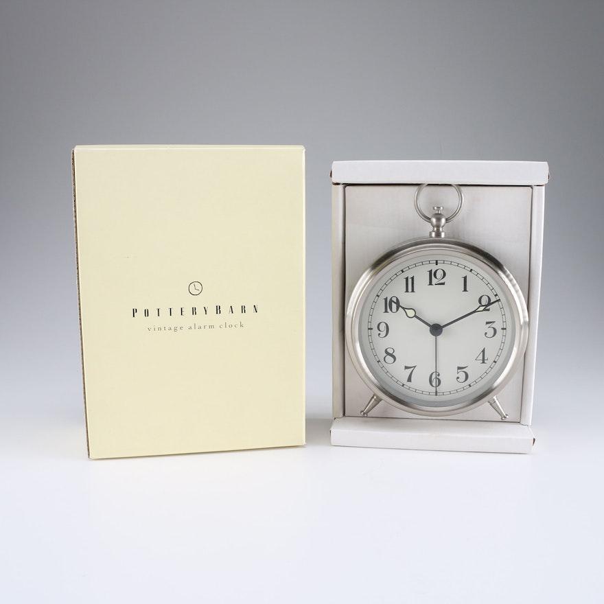 Pottery Barn Vintage Style Alarm Clock Ebth