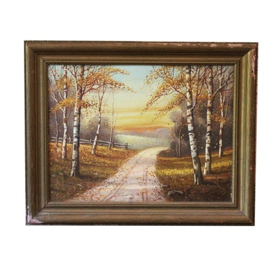 Signed, Original Oil Painting by Indiana Artist Bryan Tarlton