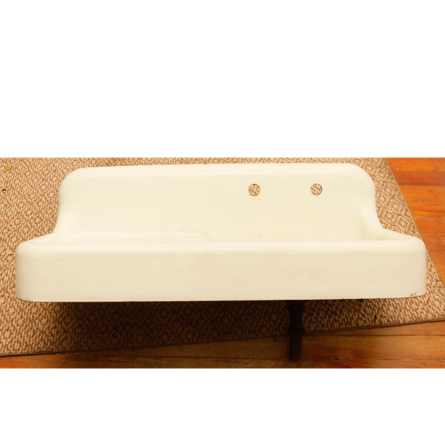 American Standard Cast Iron Farm Sink : EBTH