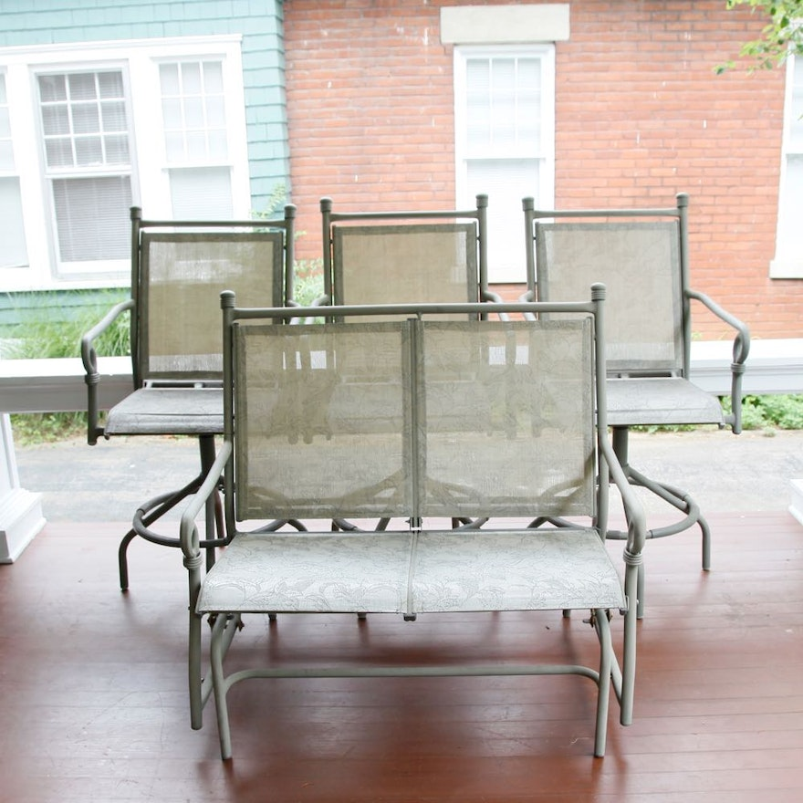 Coleman Patio Chairs and Bench ... - Coleman Patio Chairs And Bench : EBTH