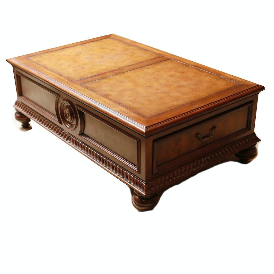 """Ethan Allen Rectangular Coffee Tables: Ethan Allan """"Morley"""" Coffee Table : EBTH"""