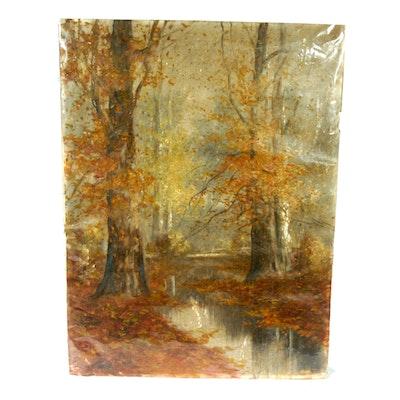 W.A. Eyden Original Oil on Canvas