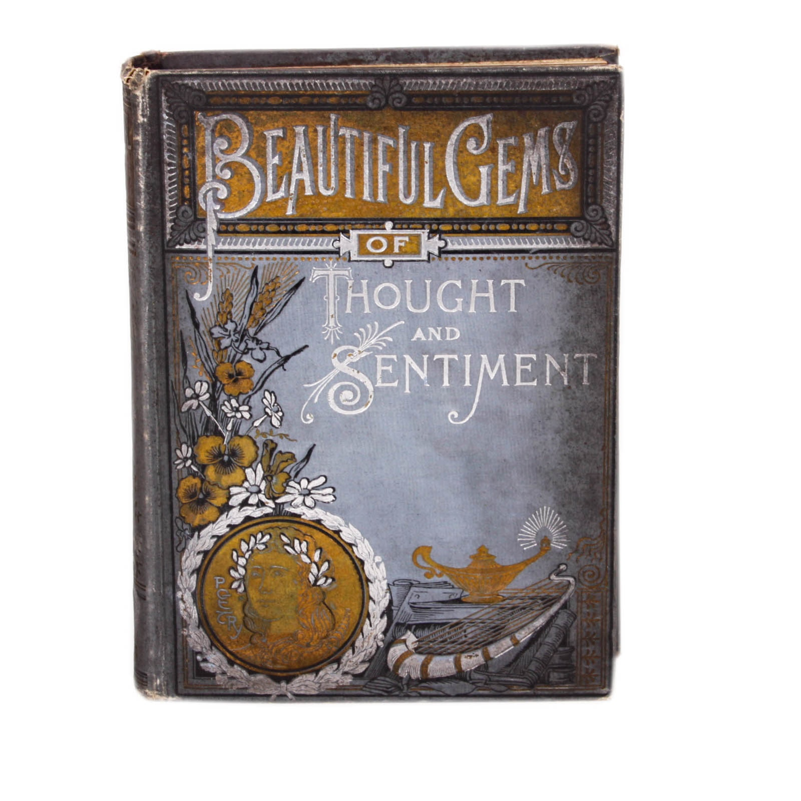 """1890 """"Beautiful Gems of Thought and Sentiment"""""""