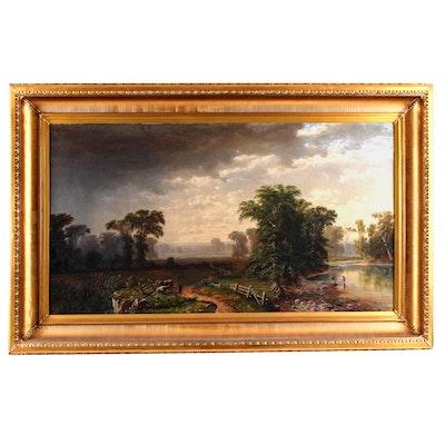 Original Unsigned 19th Century Oil Painting