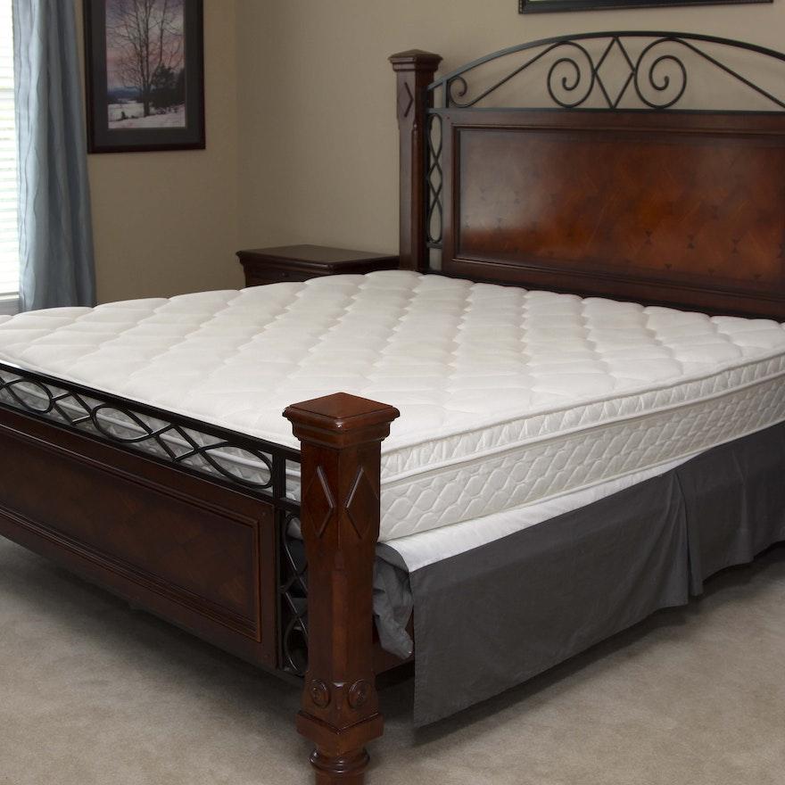 Alexander Julian King Size Bed Frame Ebth