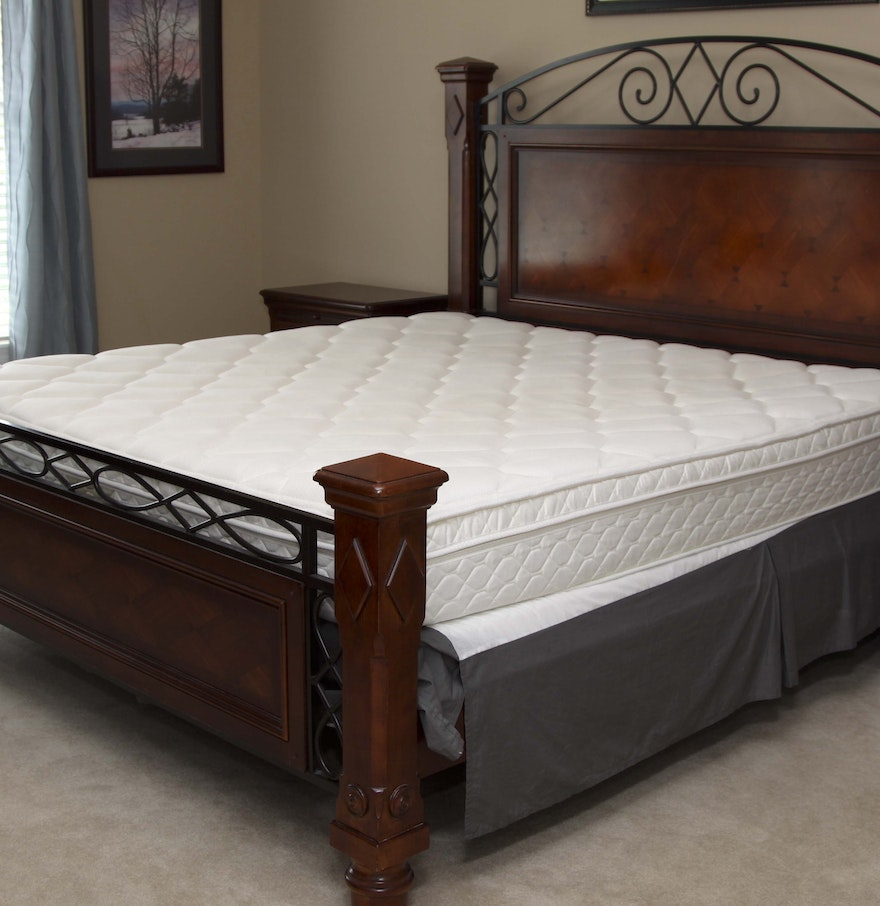 Alexander Julian King Size Bed Frame Ebth