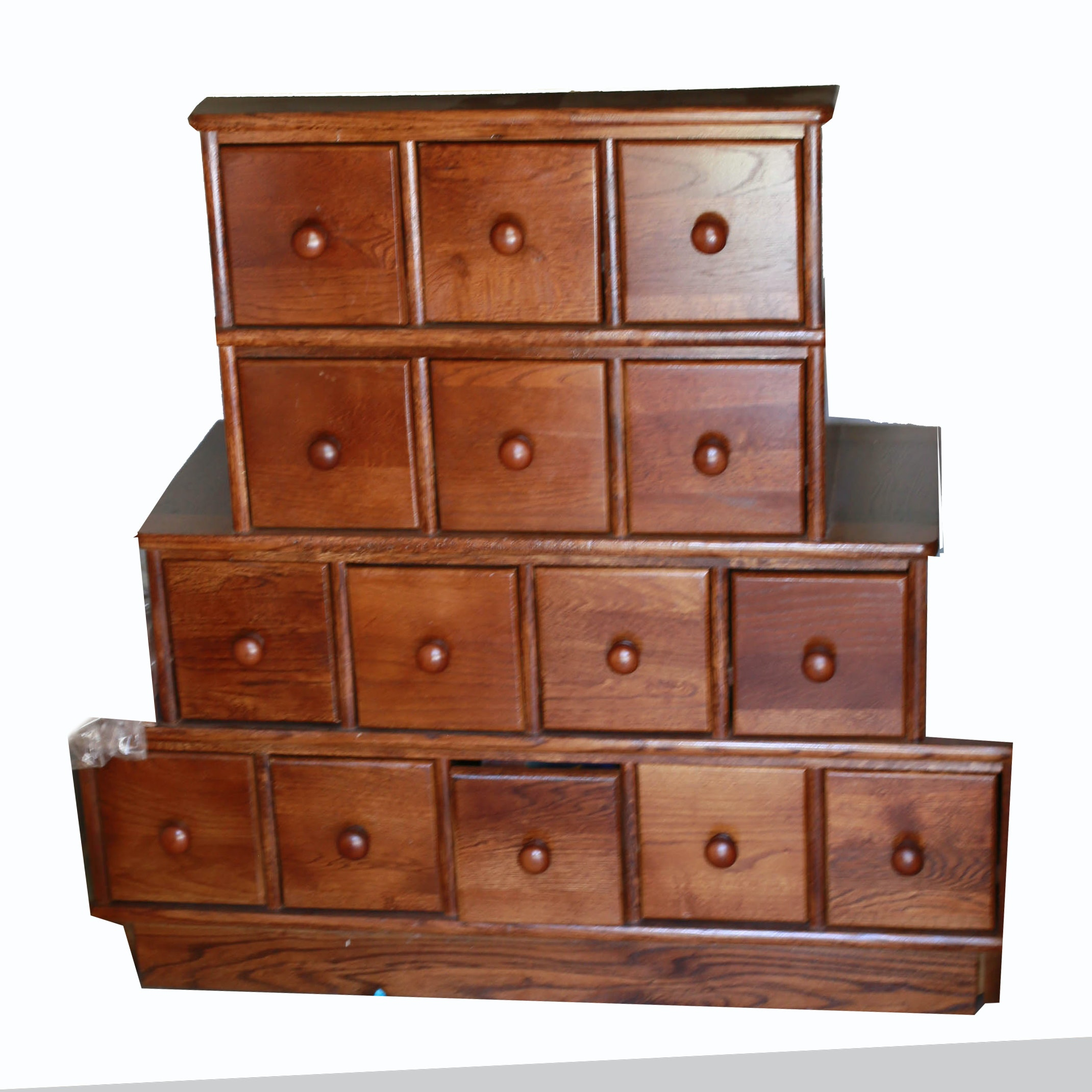 Wooden Apothecary Style Cabinet ...