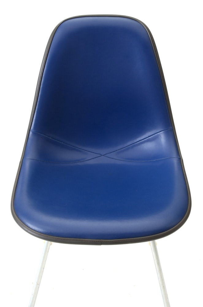 Pair Of Ray And Charles Eames Shell Chairs For Herman