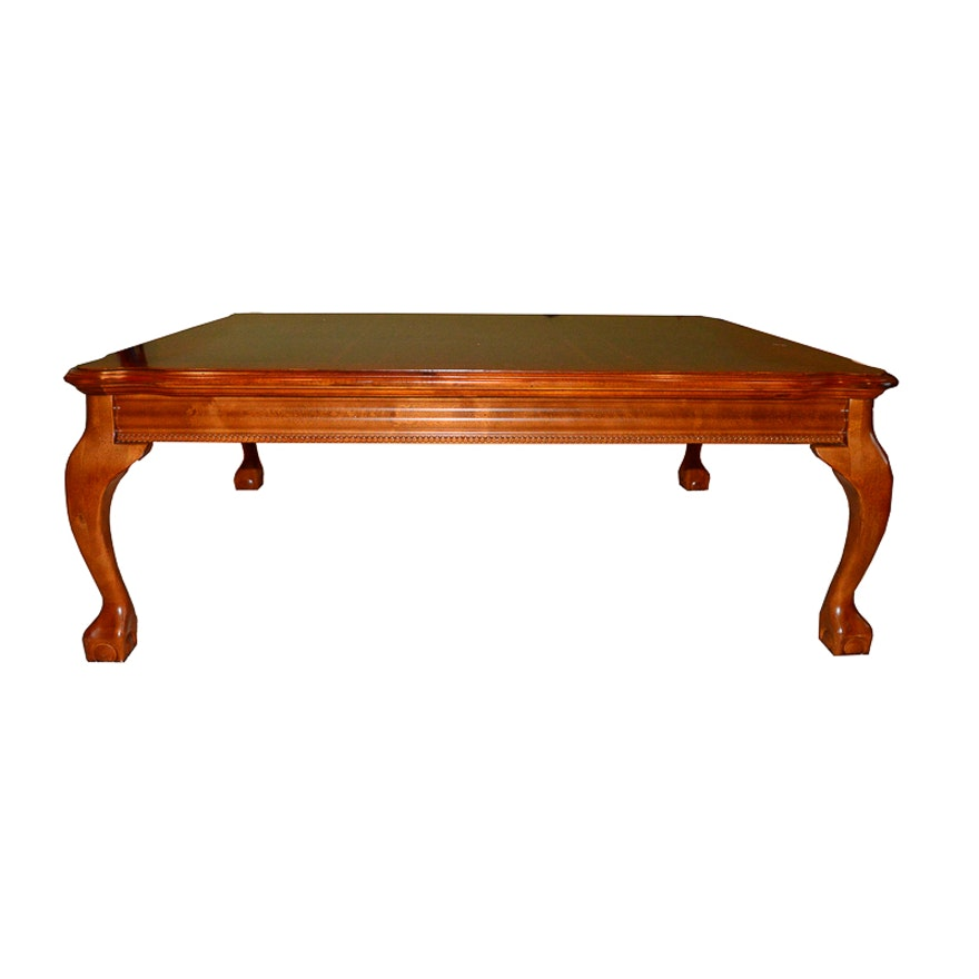 Queen Anne Style Coffee Table Ebth