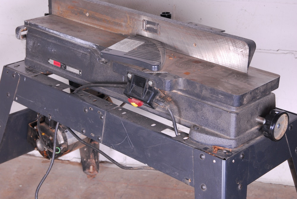 Sears Craftsman Jointer Planer With Legs And Motor Ebth