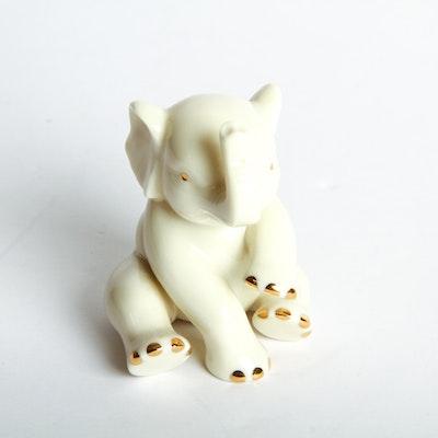 Lenox Ceramic Elephant Figurine